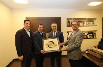 Başkan Aktaş'tan SYK Group'a ziyaret…